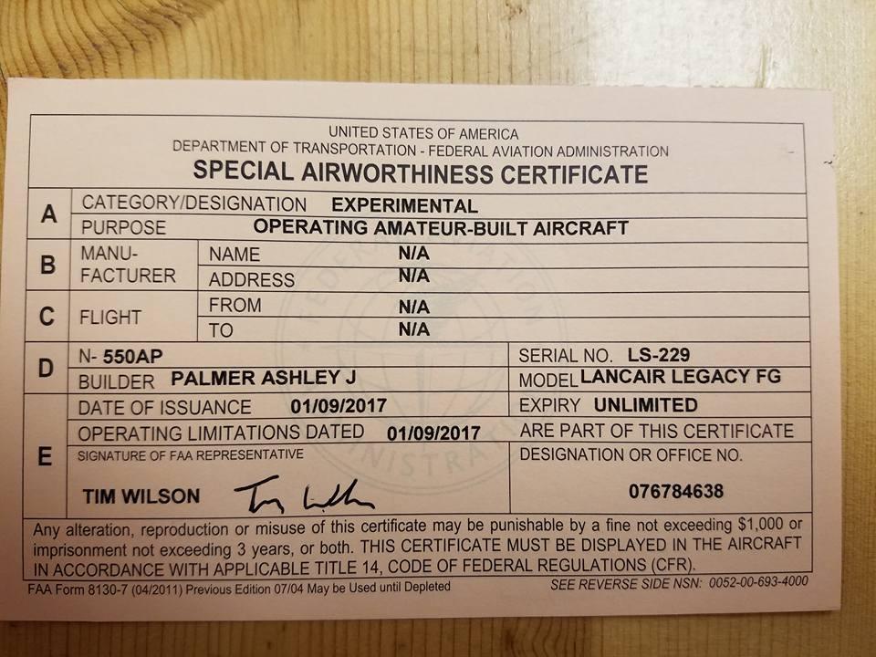 Lancair | Cascade Aircraft Management