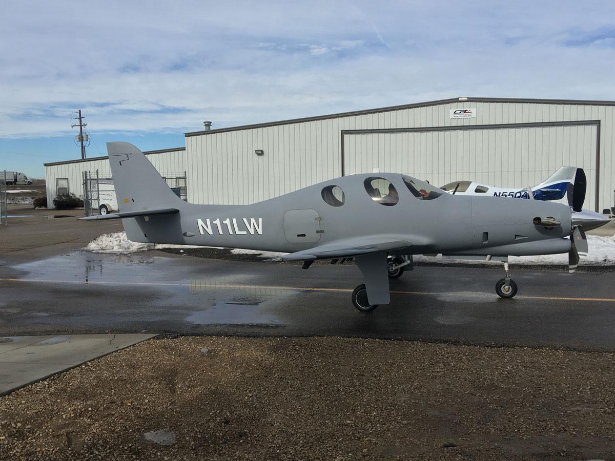 N11LW-first-flight